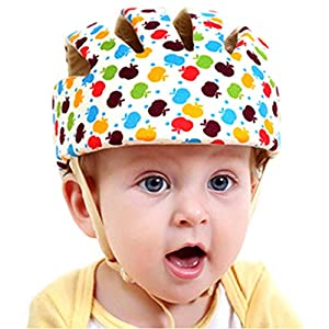 Huifen Baby Children Infant Toddler Adjustable Safety Helmet Headguard Protective Harnesses Cap Blue, Providing Safer Environment Learning to Crawl Walk Playing Baby Infant Blue Hat