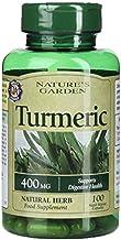 Nature s Garden Turmeric 400mg containing Curcumin 100 Capsules Estimated Price : £ 14,40