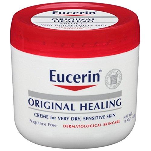 Original-Healing Soothing Repair Creme, ohne Duft, 16 Unzen (454 g) - Eucerin