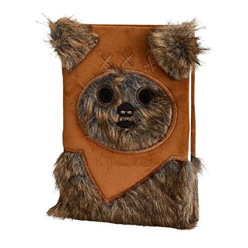 Pyramid International Premium A5 Notebooks - Star Wars (Ewok) Furry, braun, AFSR72706
