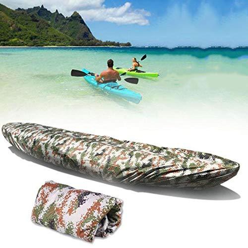 Massage-AED Funda para Barco Impermeable, Cubierta para Kayak, Resistente Al Agua, para Almacenamiento De Canoa, Protector Solar contra El Polvo, para Bote De Pesca, Cubierta para Remo, Tabla De Remo