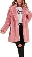 JUTOO 2018 Chaqueta de Abrigo de Piel sintética Larga de Winter Lady para Mujer Parka Prendas de Abrigo