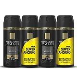Axe Desodorante Gold Pack Duplo Ahorro - 2 Paquetes de 2 x 150 ml (Total: 600 ml)