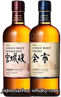 Miyagikyo und Yoichi NAS im Set japanischer Single Malt Whisky 0,7 L 45%