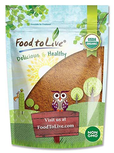 Organic Cacao Powder, 8 Ounces - Certified, Non-GMO, Kosher, Raw, Unsweetened, Sirtfood, Bulk