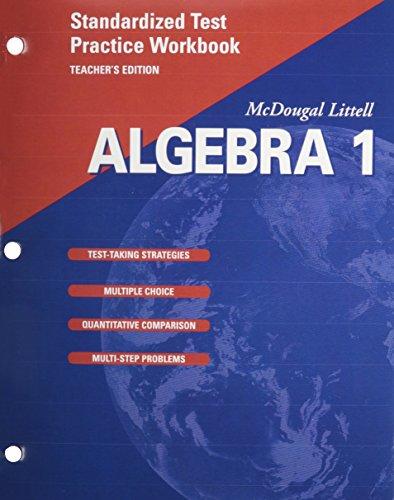 Algebra 1 : Standardized Test Practice