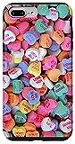 iPhone 7 Plus/8 Plus Conversation Hearts Candy Sweet Valentine Pattern Case
