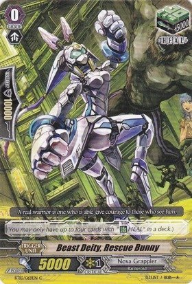 Cardfight!! Vanguard TCG - Beast Deity, Rescue Bunny (BT13/069EN) - Catastrophic Outbreak by Bushiroad Inc.
