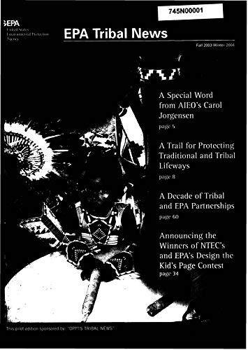 EPA Tribal News Fall 2003-winter 2004 (English Edition)