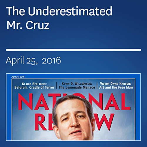 The Underestimated Mr. Cruz audiobook cover art