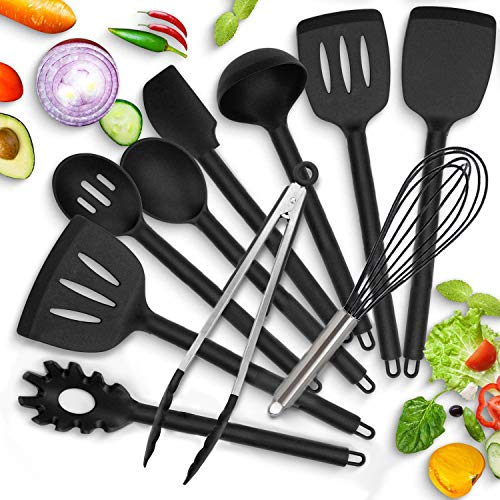 pas cher un bon Ensemble d'ustensiles de cuisine en silicone Modrad, ensemble d'ustensiles de cuisine, 10 pièces