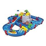 Simba - 8700001542 - Circuit d'Eau - Aquaplay - Circuit Mountain Lake - + 2 Bateaux - + 3 Animaux