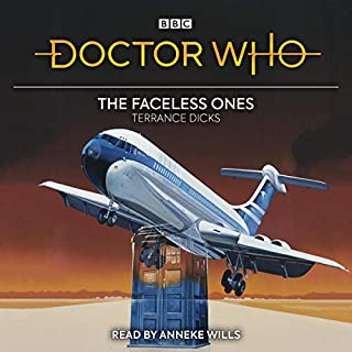 Doctor Who: The Faceless Ones audiobook cover art