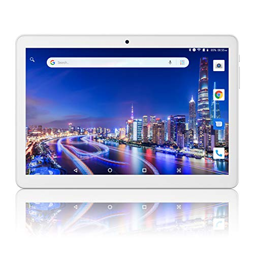 Lectrus Tablet PC 10.1' Android 8.1 Oreo,Laptop with Dual Sim Card Slots/Micro SD Card Slot,Dual Camera, 2GB RAM, 32GB Storage,3G/WiFi,Bluetooth,GPS,FM …