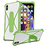 i-Tronixs (Green) Stretchy Phone Case Cover for Archos 50
