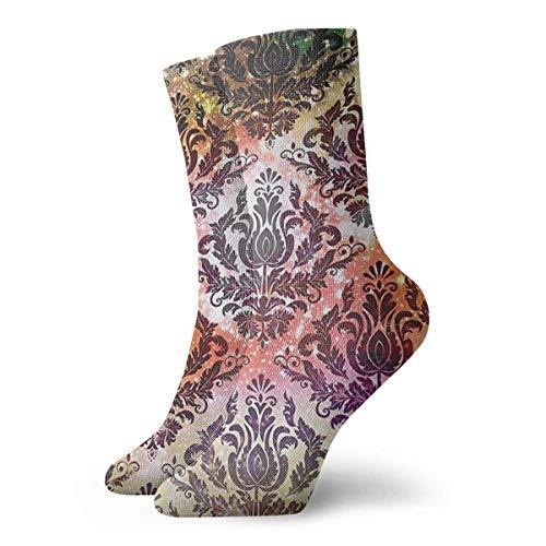 Kevin-Shop Abstract aquarel kroonluchter, oosters, voor mannen en vrouwen, grappige persoonlijkheid, motief sokken