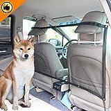 Mioke Red de Coche para Perros Mascota,Barrera Coche Protector de Seguridad...