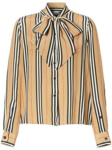 BURBERRY Luxury Fashion Damen 8024258 Beige Hemd | Jahreszeit Permanent