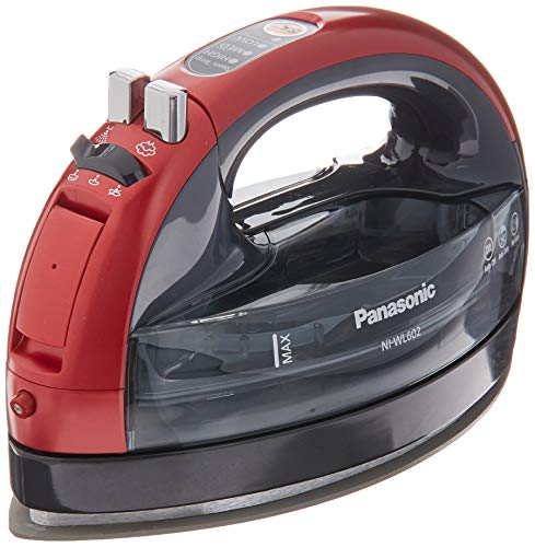 Panasonic 360 Ceramic Cordless Freestyle Metallic Red Iron