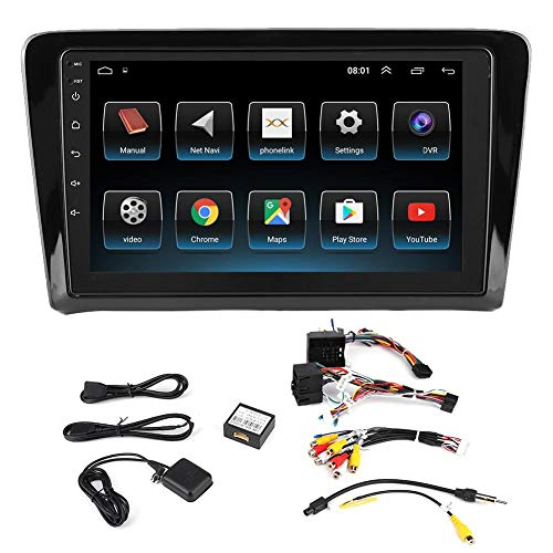 %9 OFF! KIMISS 9inch 2Din GPS Navigation Player, Car Multimedia Player Stereo Video Player for Santa...