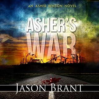 Asher's War audiobook cover art
