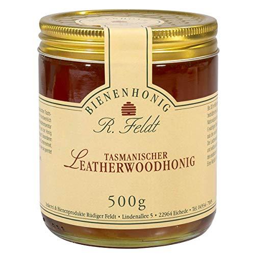 Leatherwood Honig, 500 Gramm, Geschmeidiger Honig aus Tasmanien, Scheinulmen Honig, ohne Zusatzstoffe - Bremer Gewürzhandel