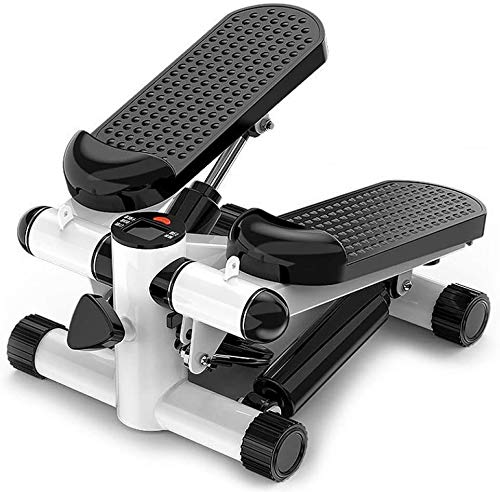 Best Goods 2 in 1 Mini Stepper, Up-Down-Stepper für Zuhause, klein Fitnessgerät für Bein- und Po-Training, Hometrainer Fitnesstraining Stepper mit Display