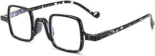 Reading glasses Rechthoekig, anti-blauw licht draagbaar, retro anti-vermoeidheidsbril, luipaardkleur