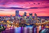 City Skyline Pittsburgh XXL Wandbild Kunstdruck Foto
