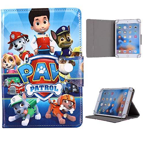 Boys Favorite Heores Character Tablet Kids Case For Universal 7 8 9.7 10 10.1 inch Case 7' 8' 9.7' 10' 10.1' inch (Universal 7' (7' Inch), Paw Patrol)