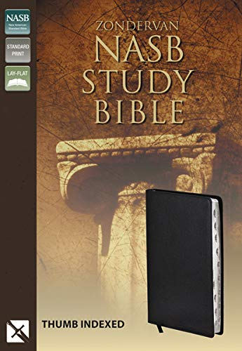 NASB Zondervan Study Bible, Indexed