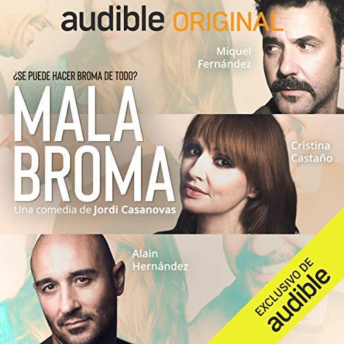 Diseño de la portada del título Mala Broma