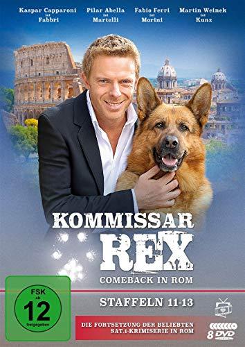 Kommissar Rex - Comeback in Rom (Staffeln 11-13) (Die Fortsetzung der SAT.1-Krimiserie in Rom) (Fernsehjuwelen) [8 DVDs]