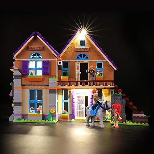 LIGHTAILING Conjunto de Luces (Friends Casa de MIA) Modelo de Construcción de Bloques - Kit de luz LED Compatible con Lego 41369 (NO Incluido en el Modelo)