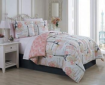 Avondale Manor Amour 8-Piece Comforter Set King Pink