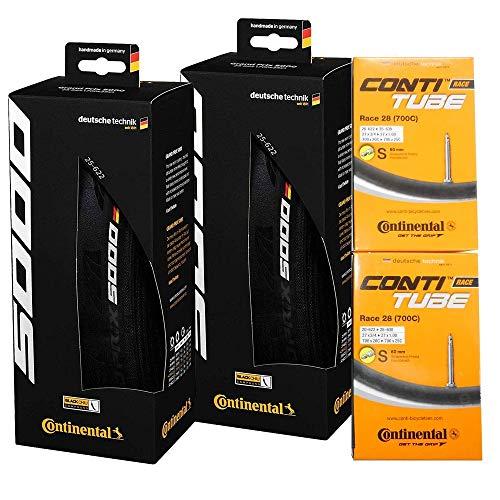 タイヤとチューブ2本セット Continental(コンチネンタル) GRAND PRIX 5000 グランプリ5000 [並行輸入品] (7...