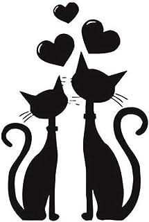 Amazon.es: pegatinas gatos