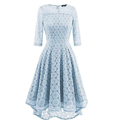 Frieed jurk, tunica, jurk van kant, eenkleurig, patchwork