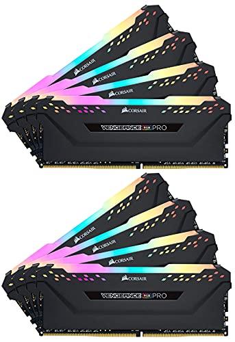 Corsair Vengeance CMW256GX4M8E3200C16 module de mémoire 256 Go 8 x 32 Go DDR4 3200 MHz