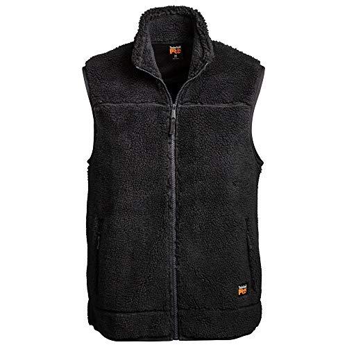 Timberland PRO Herren Frostwall Wind-Resistant Full-Zip Vest Arbeitsoberkleidung, Dunkles Charcoal, Klein