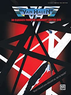Van Halen - 30 Classics from the Legendary Guitar God (Authentic Guitar-Tab Editions)