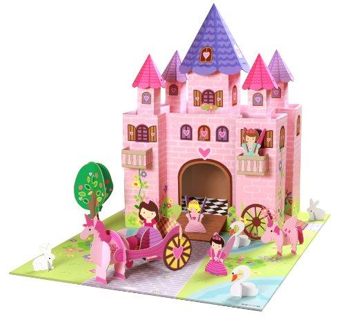 KROOOM Fairy Castle avec Accessoires Et Tapis