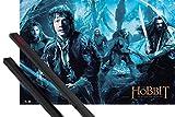 1art1 Der Hobbit Poster (91x61 cm) Smaugs Einöde, Mirkwood