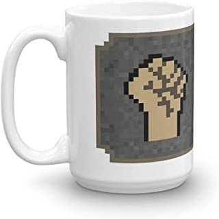 99 Strength - Oldschool Runescape. 15 Oz Coffee Mugs With Easy-Grip Handle, Suitable For Hot And Cold Drinks. Can Be Used For Home And Office