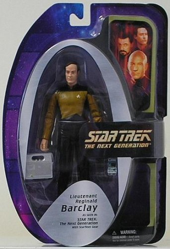 STAR TREK The Next Generation Lt. Reginald Barclay Action Figure Doll Toy ( Parallel Import )