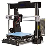 GUCOCO A8 Hölzern 3D Drucker Industrieller Hausdrucker Ultra Hochpräzise Kit i3 Upgrade MK8 Extruder 220 * 220 * 240mm Druckgröße (A8 3D Drucker)