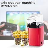 Souarts Popcornmaschine Popcorn Maker Machine Automatische für Zuhause zum Selber Machen...
