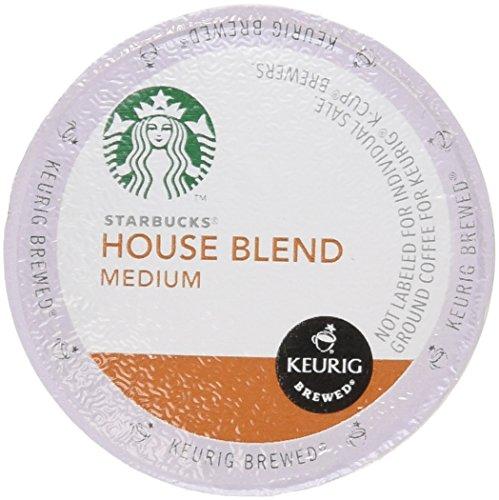Starbucks Maison Blend, Medium, K-Cup Portion Lot pour Keurig K-Cup Brewers 54 fils
