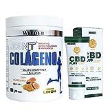 Weider Joint Collagen (300g) + CBD en crema (75 ml) . Tu protector articular completo.