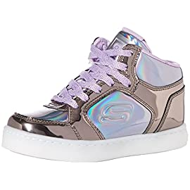 Skechers-Energy-Lights-Shiny-Brights-Zapatillas-Altas-para-Nias